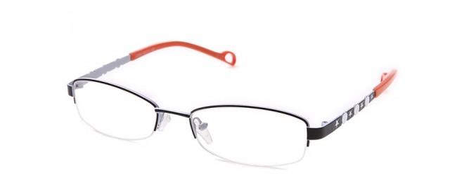 Damen Fashionbrille - Bügel in Orange