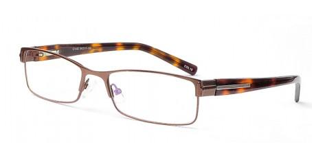 Wunderschöne Vollrandbrille in einem Kaffee-Braun-Ton