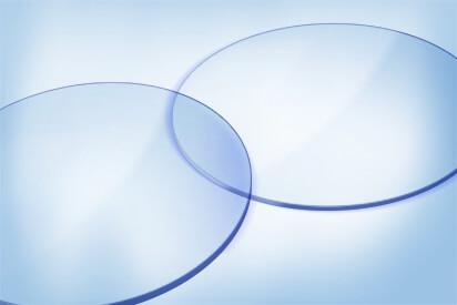 Einstärkenglas