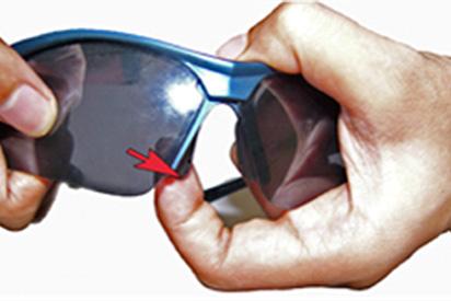Sportbrillengläser wechseln