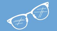 Zerkratzte Brille