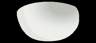 A167 Ersatzglas Crystal Silver Gradient