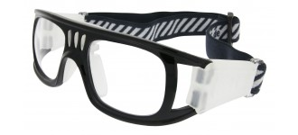 Sportbrille SP0864 in Schwarz