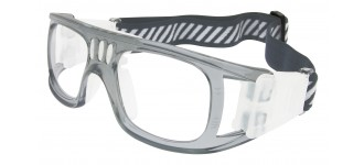 Sportbrille SP0864 in Grau Transparent