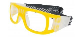 Sportbrille SP0864 in Gelb