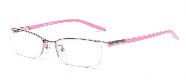 Halbrandbrillen-Modell aus Metall