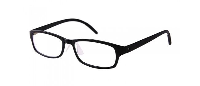 Retro Gleitsichtbrille Vollrand Rot-Weiß