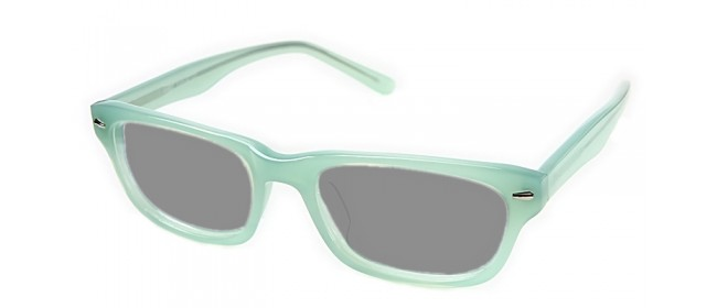 Retro Sonnenbrille - Trendfarbe Mintgrün