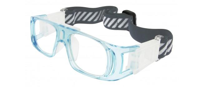 Sportbrille L003-C3 in Blau