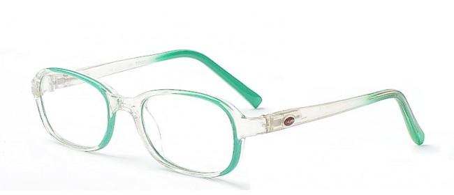 Trendige Kinderbrille mit Federscharnier