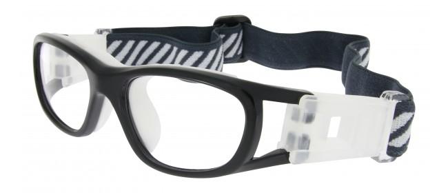 Sportbrille SP0855 in Schwarz