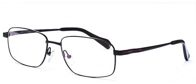 Schmale Vollrandbrille für Herren aus Titanlegierung
