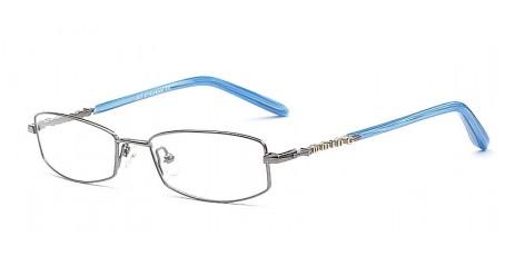 Brillen Klassiker mit einem Blau Touch