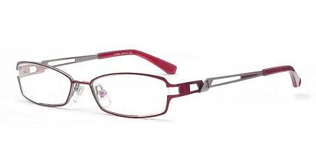 Wunderschöne rote Damenbrille