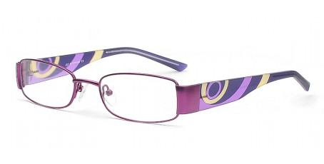 Damen Brillengestell im kräftigen Lila Ton