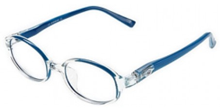 Topmodische Kinderbrille in Blau-Weiß