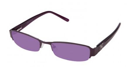 Lilafarbene Damen Sonnenbrille - getönte Gläser