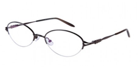 Graue Halbrandbrille aus Metall mit Federscharnier
