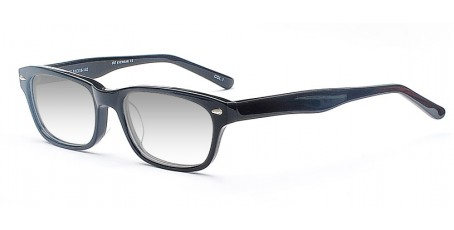 Stylische Nerd Sonnenbrille incl. Farbverlauf- Wayfarer Style