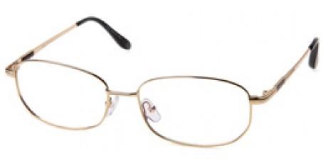 Herren Brille aus Metall - Gold Ton