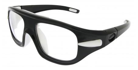 Sportbrille SP0852 in Schwarz