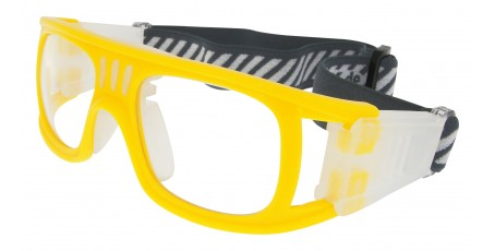 Sportbrille SP0864 in Gelb