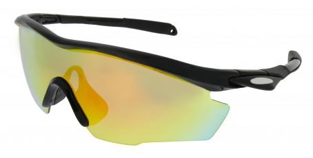 Sportbrille SP0891 in Schwarz Grau