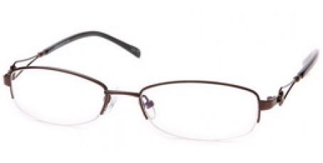 Damen Halbrandbrille aus Metall