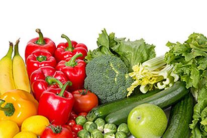 Vitamin A ist in vielen Obst- und Gemüsesorten enthalten