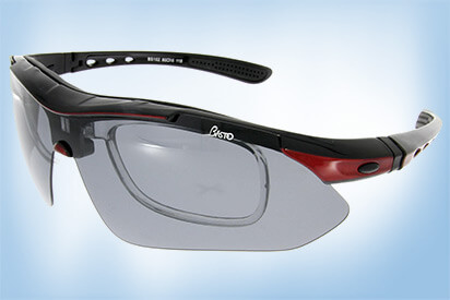 Zu den Sportbrillen mit Wechselclip