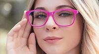 Knallige Brillen