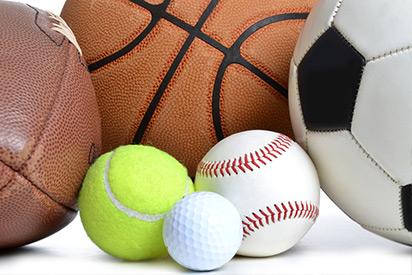 Fußball, Basketball, Tennisball