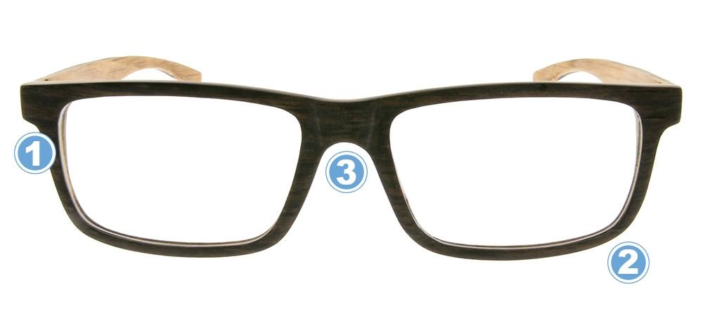 Perfekte Fassung für eine Gleitsichtbrille