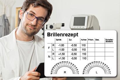 Das Brillenrezept vom Augenarzt